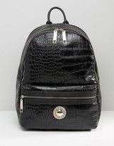 Versace Large Croc Backpack