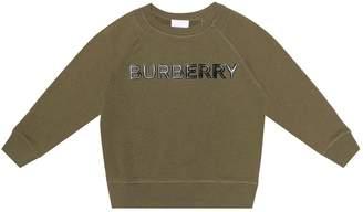 Burberry Logo cotton sweater