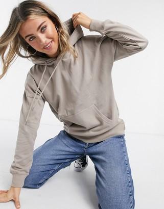 New Look oversized hoody in light brown
