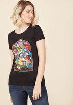 ModCloth Vincit Qui Se Vogue Cotton T-Shirt in S