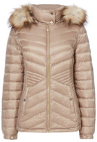 Tu clothing Grey Quilted Down Jacket