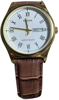 Casio White Gold plated Watches