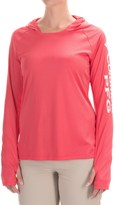 Columbia Tidal Hooded PFG Shirt - Omni-Wick®, UPF 50, Long Sleeve (For Women)