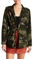 Flying Tomato Floral Camo Utility Jacket
