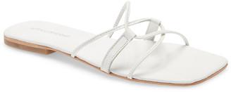 Jeffrey Campbell Addison Square Toe Slide Sandal