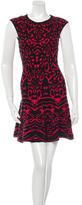 Torn By Ronny Kobo Jacquard Mini Dress