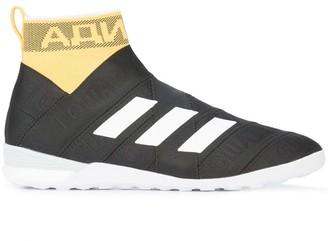 Gosha Rubchinskiy Striped Design High Top Sneakers