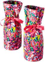 Lilly Pulitzer Set Of 2 Wild Confetti Wine Totes