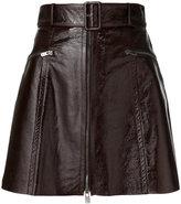 Drome belted waist skirt