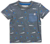 Sovereign Code Boys' Whale & Sailboat Pocket Tee