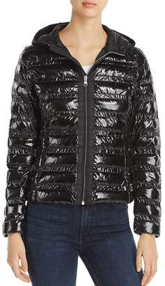 Colmar Shiny Hooded Short Down Coat