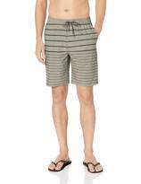 Quiksilver Waterman Men's SUVA Stripe Amphibian 20 Hybrid Shorts