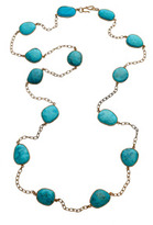 Elyssa Bass Turquoise Station Necklace
