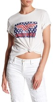 Eleven Paris ELEVENPARIS Cuffed Wonder Woman Tee
