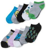 Steve Madden Girls 4-6x) 10-Pack Low Cut Cactus Socks