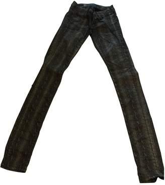 GUESS Black Cotton Jeans