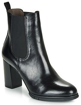 Perlato 11273-JAMAICA-NOIR women's Low Ankle Boots in Black