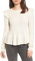 Rebecca Minkoff Women's Regina Ruffle Wool & Cashmere Sweater