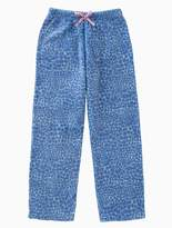 Calvin Klein Girls Plush Animal Print Pants