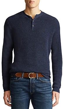 Polo Ralph Lauren Cotton Henley Sweater