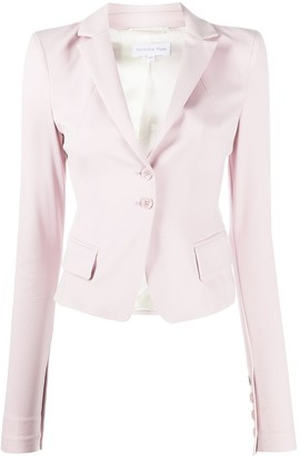 Patrizia Pepe Single-Breasted Fitted Blazer