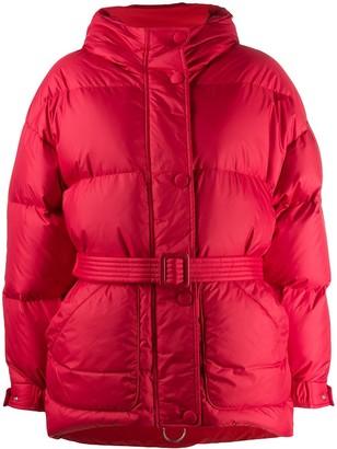 Ienki Ienki Belted Puffer Coat