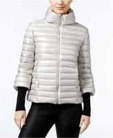 GUESS Catee Three-Quarter-Sleeve Puffer Coat