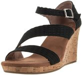 Toms Clarissa Wedges Cork 10007808 Womens 9
