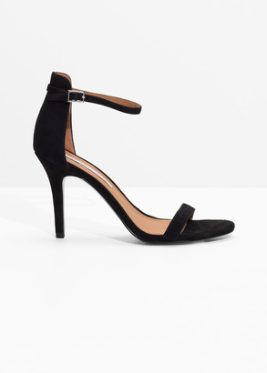 And other stories Suede Two Strap Sandals