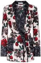 Equipment Theron Rose Print Robe