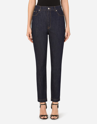 Dolce & Gabbana High-Waisted Audrey Jeans