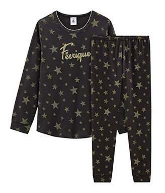 Petit Bateau Girl's Pyjama_5251501 Set,(Size: 5Years/110centimeters)
