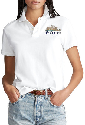 Polo Ralph Lauren Classic Fit Embroidered Polo