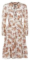 Max Mara Nilly Floral Silk Dress