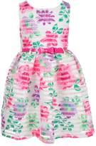 Nannette Little Girls' Toddler Belted Dress