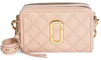 Marc Jacobs The Softshot Quilted Leather Camera Bag