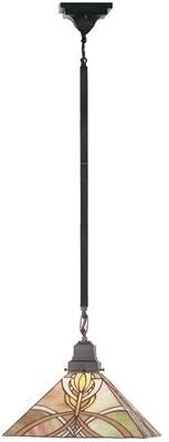 Tiffany & Co. Meyda Mission 1-Light Single Geometric Pendant Meyda