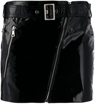 Manokhi Zipped Mini-Skirt