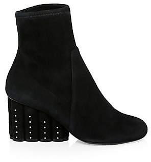 Salvatore Ferragamo Women's Gallio Suede Wedge Ankle Boots