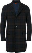 Barena plaid long sleeve coat