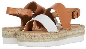 Soludos Ali Sport Sandal (Camel/White) Women's Shoes