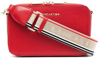 Lancaster Saffiano Signature crossbody bag