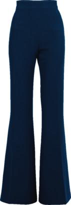 Safiyaa Peacock Halluana Flare Side Zip Pant