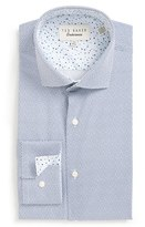Ted Baker Men's 'Upwood' Trim Fit Geometric Dress Shirt