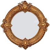 Rejuvenation Ornate Gilt Beaux Arts Iron-Framed Mirror