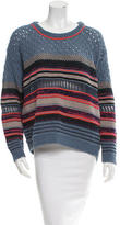 Dagmar Striped Long Sleeve Sweater