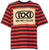 Dries Van Noten Printed Stripe T-shirt