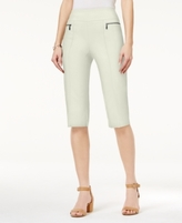 Style&Co. Style & Co Style & Co Petite Pull-On Capri Pants, Created for Macy's