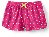 Classic Girls Plus Pattern Knit Short-Honey