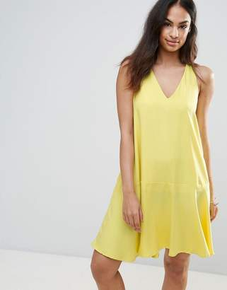 Frnch FRNCH Swing Dress-Yellow